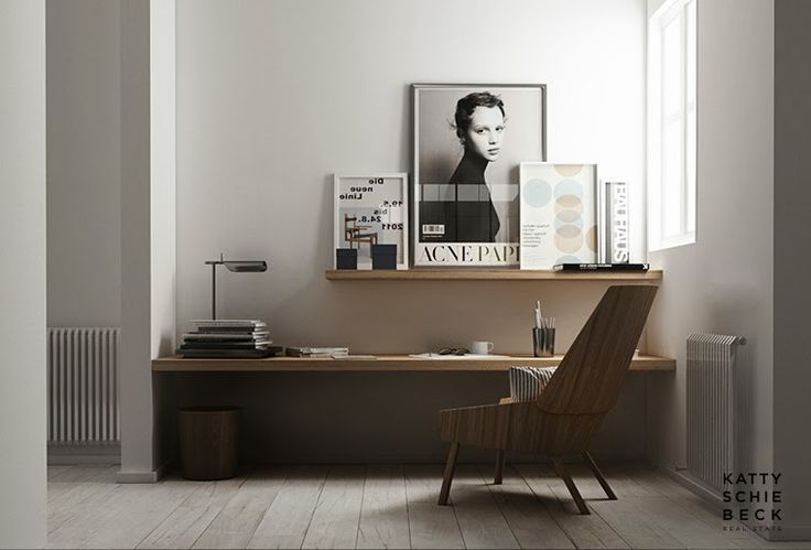 25 Minimal Home Office Designs – Daphne Hansen