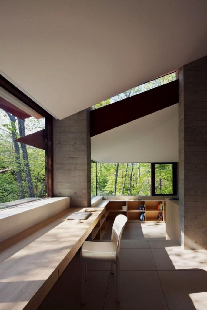 japaneese style minimalism in office design