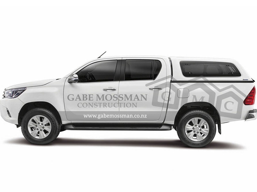 Gabe Mossman Truck Branding Design Havelock North